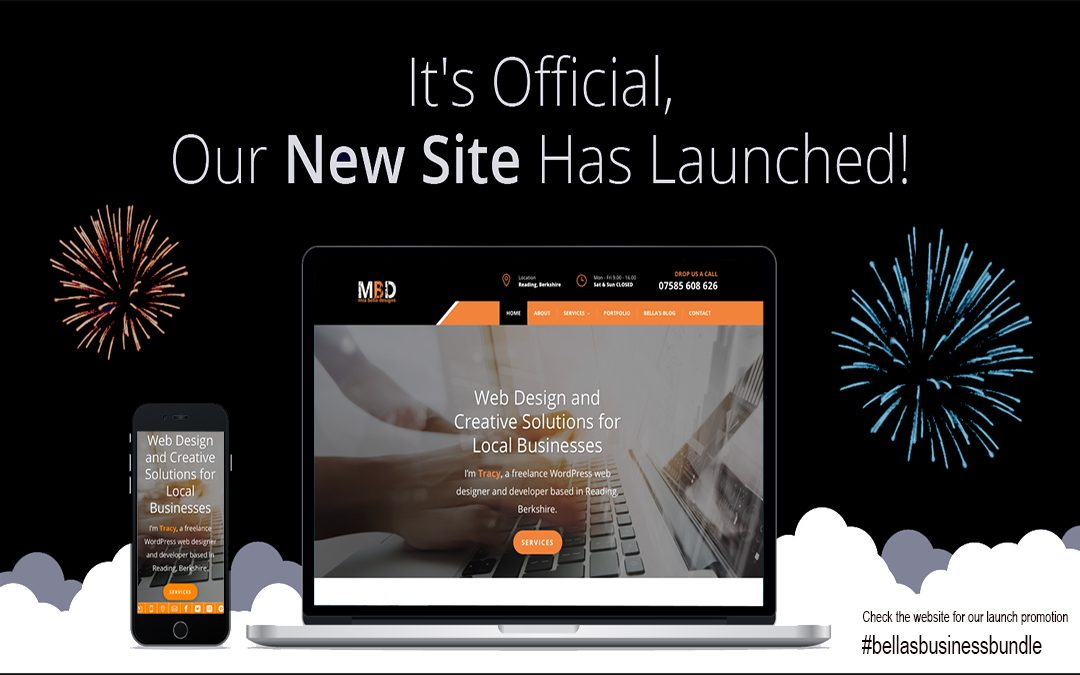 It's Official, our NEW SITE has Launched!